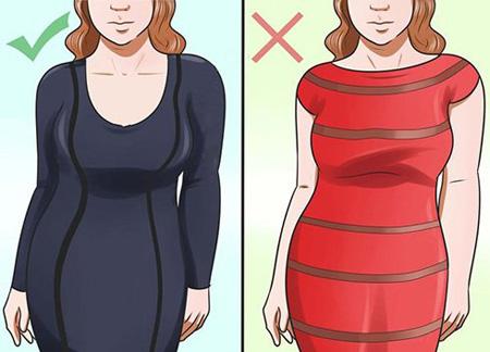 ست کردن لباس برای خانم های چاق
