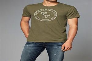 جدیدترین تی شرت های مردانه ۲۰۱۸ برند Abercrombie & amp Fitc+تصاویر