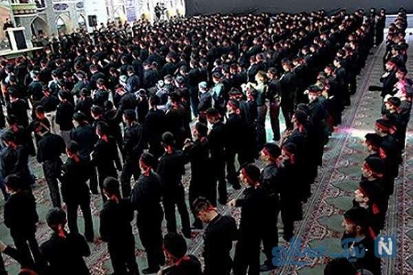 استفاده از رنگ سیاه در ایران برای عزاداری