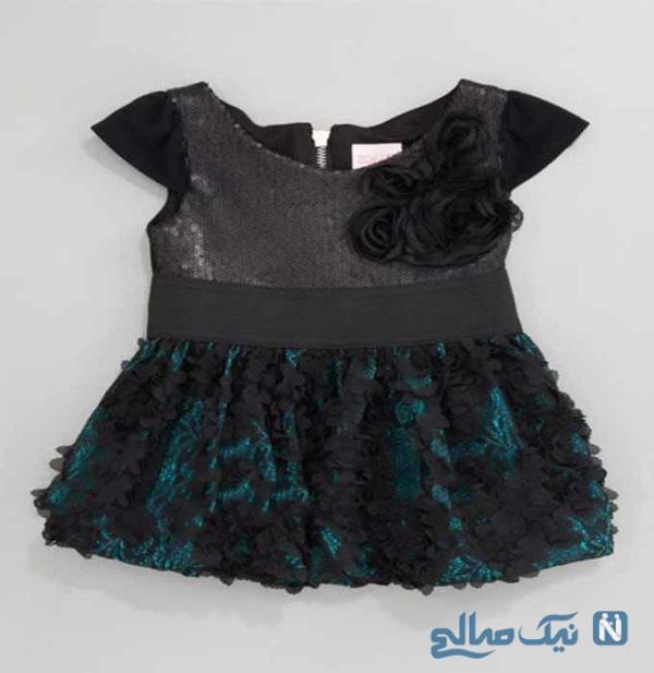 مدل لباس های مشکی دخترانه