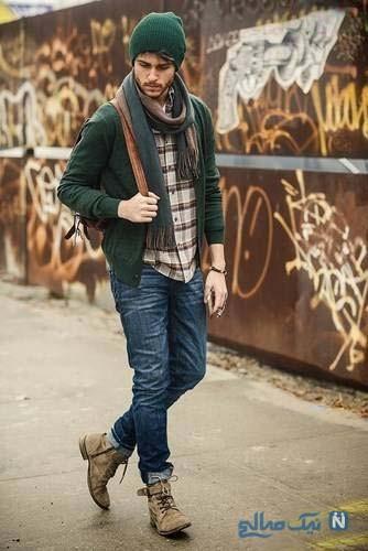 مدل لباس زمستانه مردانه
