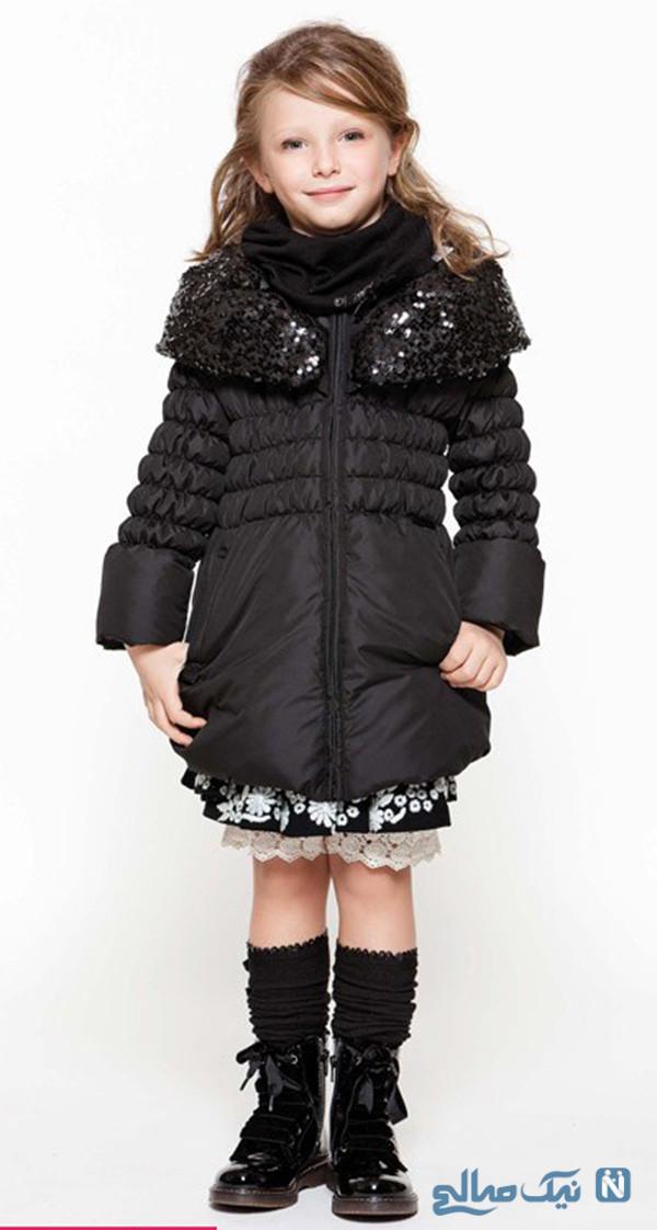 کاپشن زمستانه دخترانه