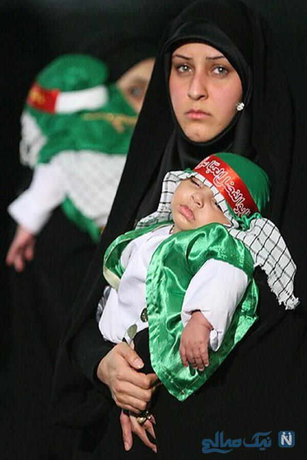 لباس نوزادان برای محرم