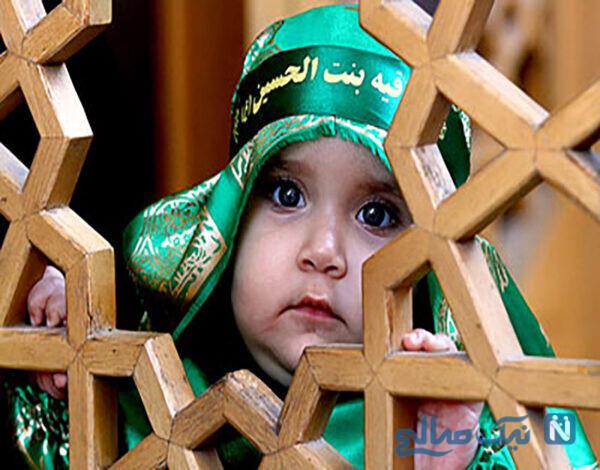 لباس سبز علی اصغر