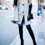 شیک ترین لباس های خاکستری رنگ مناسب زمستان ۲۰۱۷+تصاویر