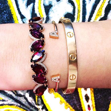 قشنگ ترین جواهرات به رنگ سال + تصاویر