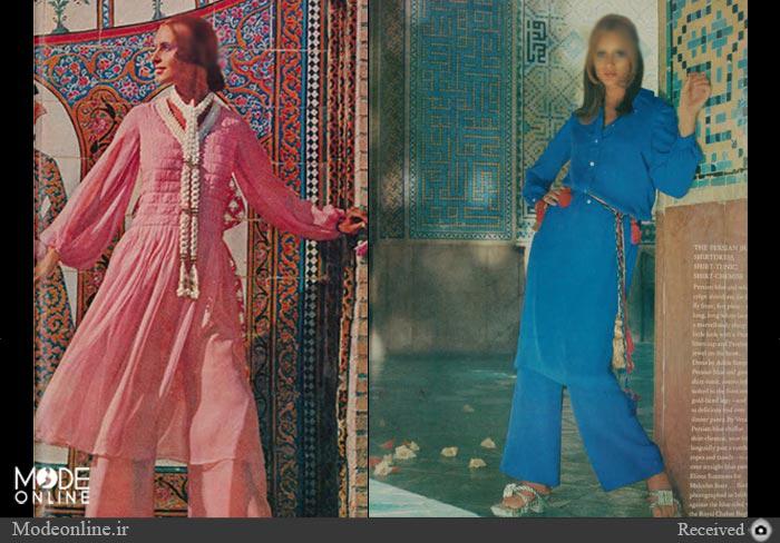 آیا برج آزادی برای طرح لباس یک خانم مناسب است؟ +تصاویر