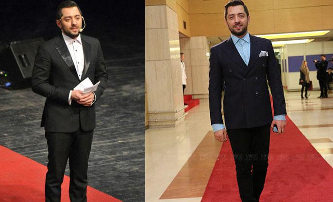 بهرام رادان , مرد خوش پوشه جشنواره فیلم فجر۹۴+تصاویر