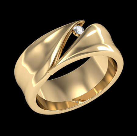 خوشگل ترین مدل حلقه های ازدواج + تصاویر