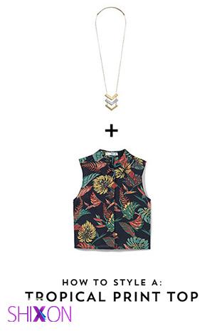 انتخاب گردنبند مناسب برای یقه انواع پیراهن +تصاویر