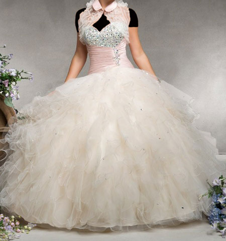 مدل لباس نامزدی پرنسسی + تصاویر