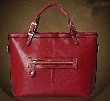 مدل کیف دخترانه به رنگ عنابی و شرابی + تصاویر