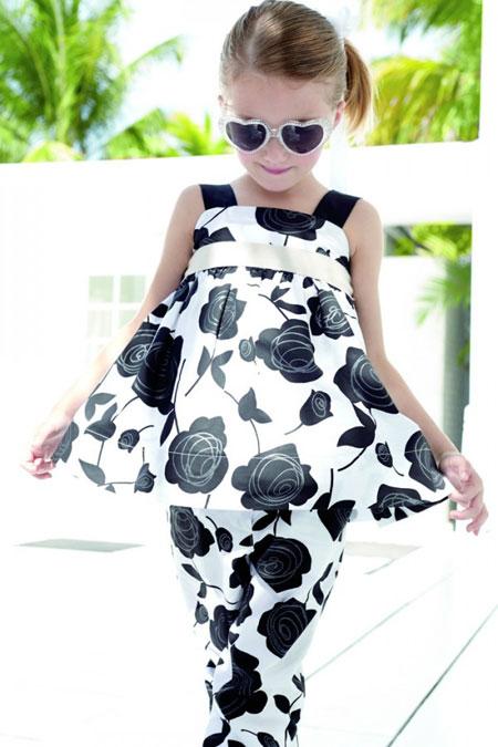 مدل لباس دخترانه MONNALISA + تصاویر