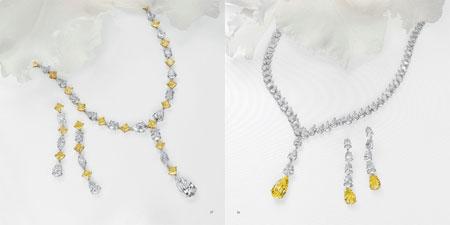 کلکسیون جواهرات و الماس های LEVIEV + تصاویر
