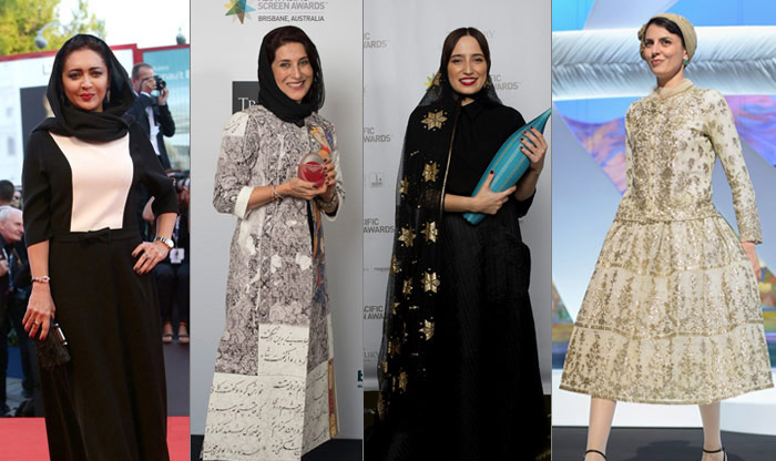 با وقار و زیباپوش مانند ترانه علیدوستی/ مدل های لباس ترانه علیدوستی در جشنواره کن۲۰۱۶+تصاویر