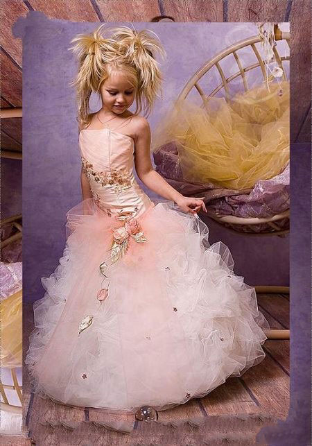 مدل لباس عروس بچگانه ۲۰۱۶ +تصاویر