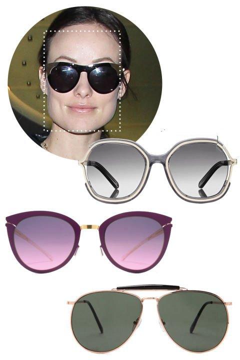 انتخاب مدل عینک آفتابی مطابق فرم صورت +تصاویر