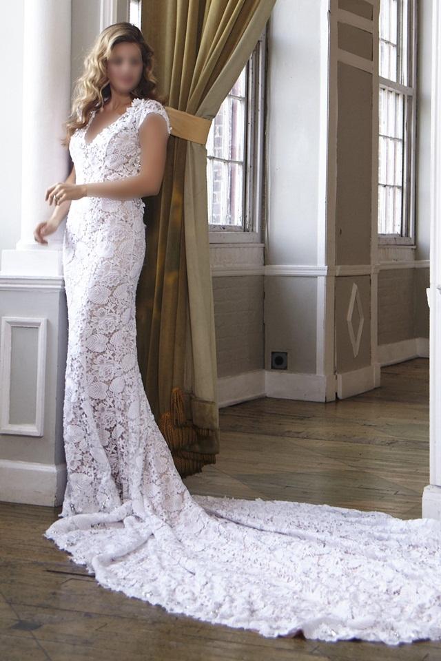 شیک ترین مدل لباس عروس اروپایی ۲۰۱۷ +تصاویر