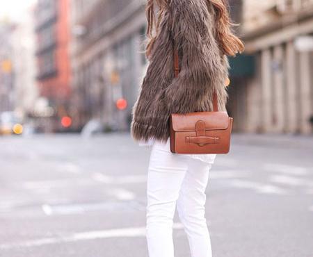 شلوار جین سفید را با چه لباسی ست کنیم؟؟ + تصاویر