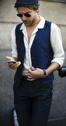 جدیدترین تیپ واستایل های مردانه در هفته مد ایتالیا+تصاویر
