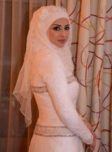 مدل تور عروس محجبه و باحجاب + تصاویر
