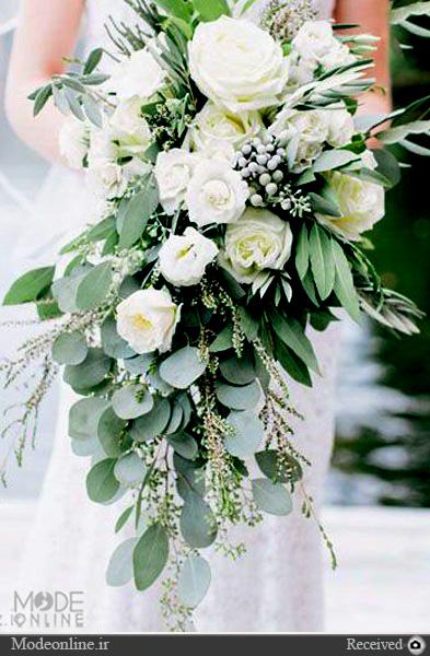 دسته گلهای بسیار زیبای آبشاری که دوباره مد شده اند +تصاویر