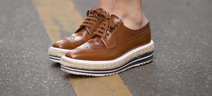 ایده های بسیار شیک برای پوشیدن کفش های لژدار +تصاویر