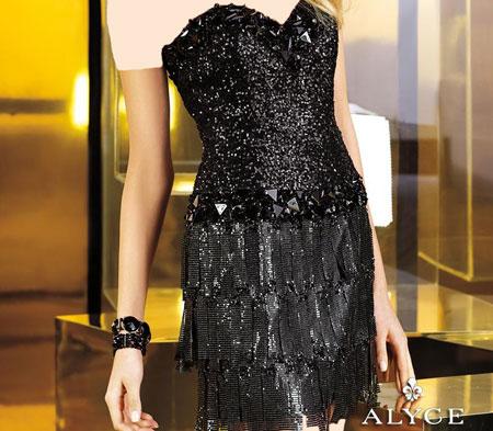 مدل لباس شب مشکی + تصاویر