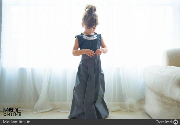لباس ستارههای اسکار روی تن دختر۶ ساله! + تصاویر