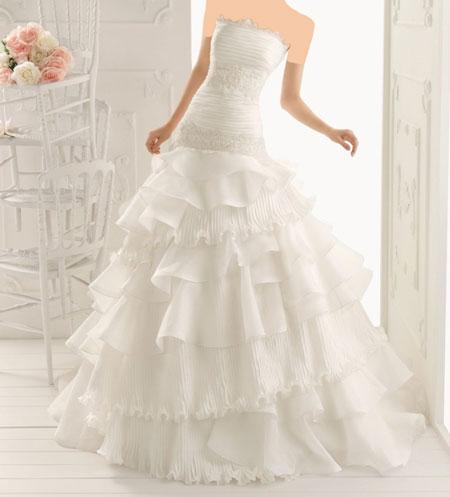 مدل لباس عروس جذاب + تصاویر