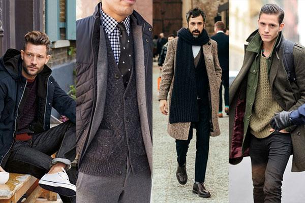 شیک ترین ترکیب برای لباس های زمستانی مردانه +تصاویر