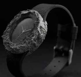 گرانترین ساعت مچی که تکه ای از ماه دارد+تصاویر