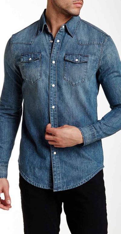 پیراهن های جینی که هر مرد خوش تبپی باید داشته باشد+ تصاویر