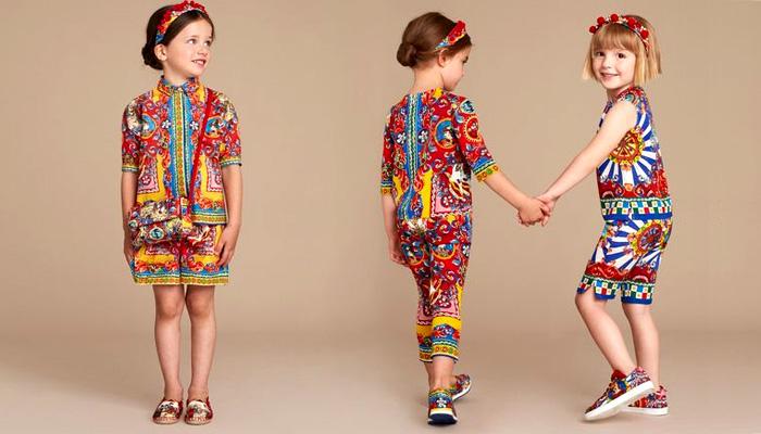 کلکسیون لباس بچگانه تابستان دولچه و گابانا/ شیک پوشی با بهترین طراحی ها+تصاویر
