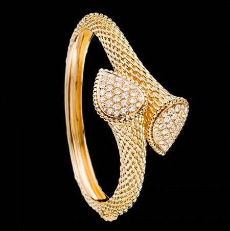 زیباترین مدل دستبندهای طلا + تصاویر