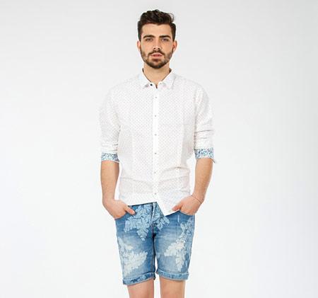 شیک ترین مدل شلوارک جین مردانه + تصاویر