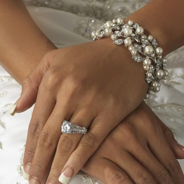 دستبندهای زیبا برای عروس خانم ها +تصاویر