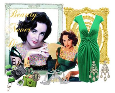 مدلهای جدید ست لباس مجلسی زنانه (رنگ سبز) +تصاویر