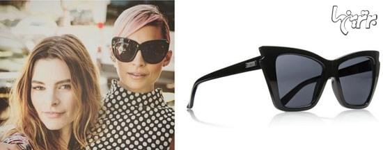 عینک آفتابی، به سبک ستاره ها +تصاویر