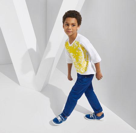 جدیدترین مدل های لباس کودکانه ورساچه + تصاویر