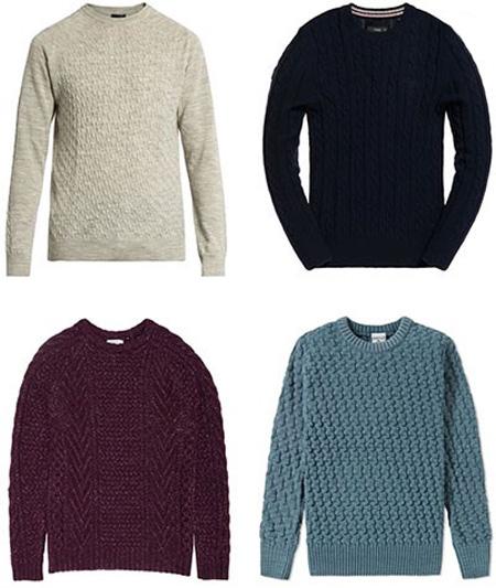 لباس های بافتنی که آقایان باید برای پاییز و زمستان داشته باشند +تصاویر