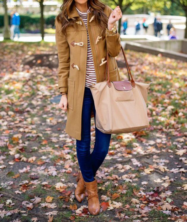 ست لباس های قهوه ای پاییزی برای علاقه مندان به این رنگ +تصاویر
