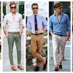 جذابیت بیشتر آقایان با پوشیدن شلوارهای رنگی! +تصاویر