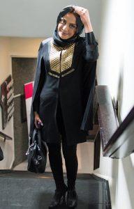 مدل مانتو بازیگران در اکران فیلم جاودانگی