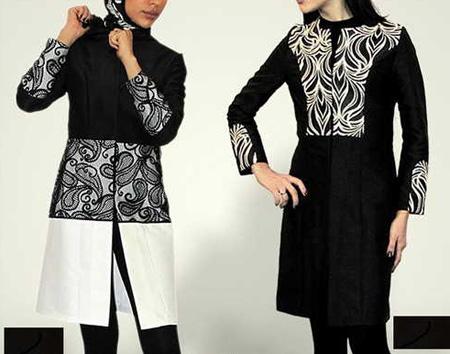 مدل های مانتو جذاب و شیک با ترکیب رنگ محبوب شیک پوشان تصاویر