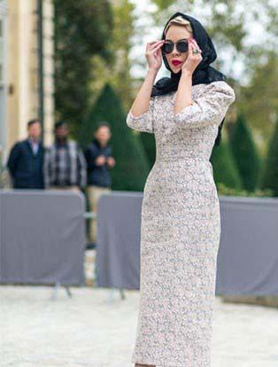 مدل لباس زنانه در خیابانهای فرانسه / استایل خانم های شیک پوش+تصاویر