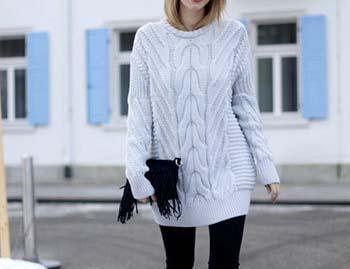 شیک ترین و زیباترین مدل های لباس های بافت برای خوش تیپ ها +تصاویر