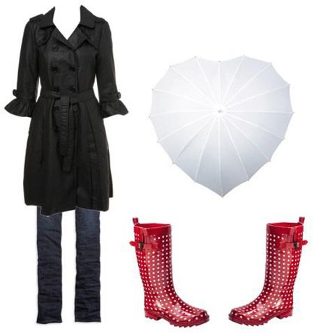 ترفندهای شیک پوشی زنانه در روزهای بارانی +تصاویر