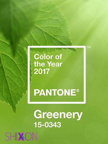 سبز روشن متمایل به زرد ، رنگ سال ۲۰۱۷ +تصاویر