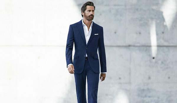 کت و شلوار آبی را با این رنگ پیراهن ها ست کنید+تصاویر
